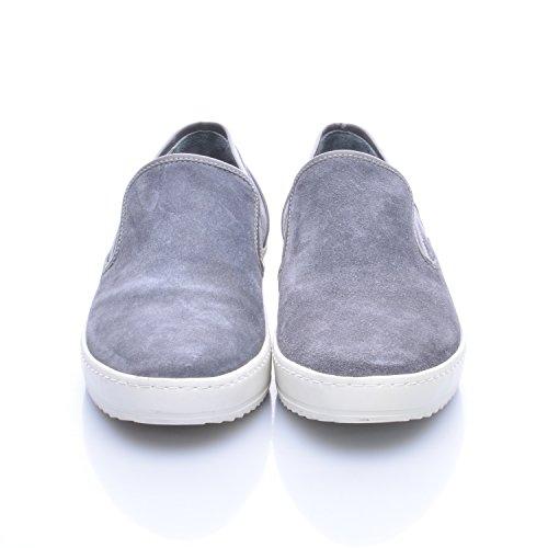 Karl Lagerfeld Herren Slipper Grau Blau