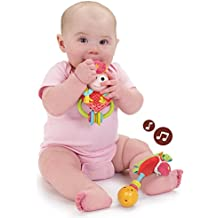 Baby Rattle and Teether Set - Musical Pony and Cowgirl Toy (0 Mo+)