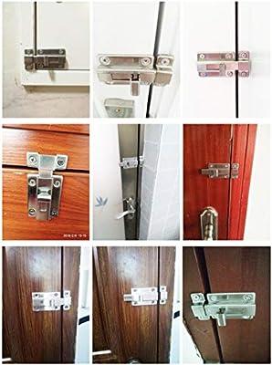 YUOIP Cierre de seguridad para puerta corredera de acero ...