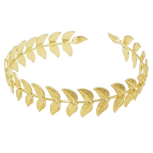 Athena Goddess Costume Ideas (Rosemarie Collections Women's Beautiful Gold Tone Upper Arm Band)
