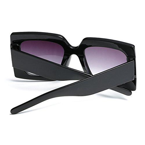 Gafas Cuadrado de para Oversized Crystal F 1 lentes sol Elegant Sparkling Feicuan Mujer Grande dqC05wdZ