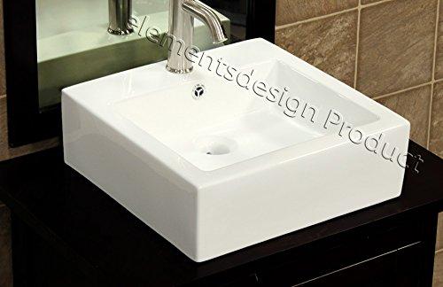 Bathroom Ceramic Vessel Porcelain Sink Pop Up Drain 7046B & free Overflow Pop Up Drain Overflow Corner
