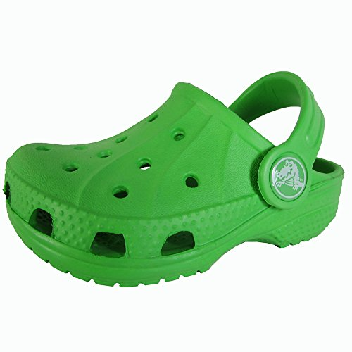 Crocs - Kids Ralen Clog, Size: 4-5 M US Toddler, Color: Lime
