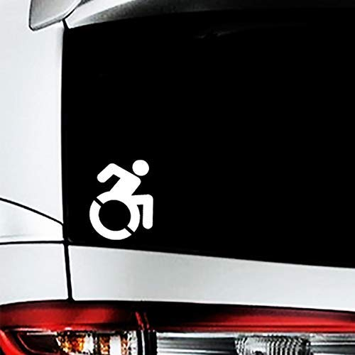 Modern Disabled Symbol Decal, Wheelchair Access Sticker, for sale  Delivered anywhere in USA