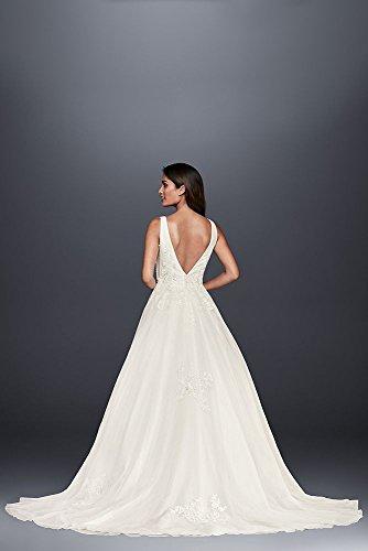 4bae55f8cf0a ... David's Bridal Mikado Tulle Petite Ball Gown Wedding Dress Style  7WG3877 White. Product 3316/5720. prev · Product List · next. Model:  B075VXMB4R ...