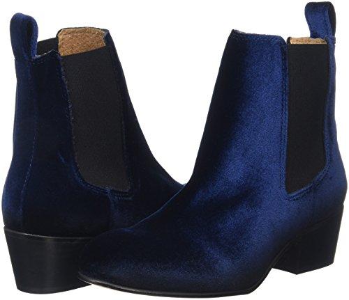 Chelsea Chelsea SELECTED Boot Selected Blu Velvet Scarpe FEMMESFLONDON Dark Navy FEMME Donna Ypr4nY