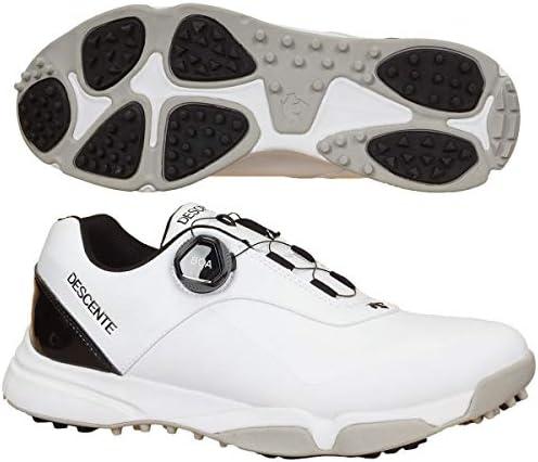 メンズ ゴルフシューズ スパイクレス ストリーム STREAM ホワイト DG2NJA01