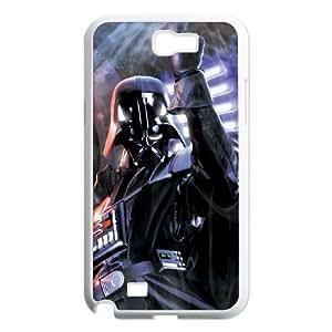 Samsung Galaxy N2 7100 Cell Phone Case White Darth Vader Dark Side JSK719799