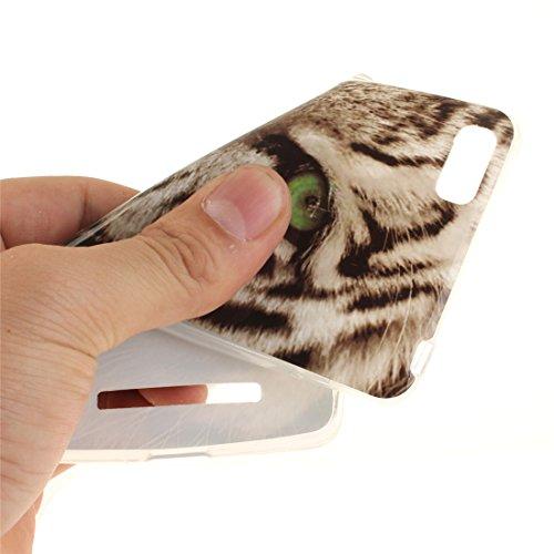 4C Arrière Bord Souple Xiaomi En Couverture Mi TPU leopard Transparent 4i Cas Scratch Peint Cas Motif Antichoc Fit Protection Téléphone Slim Hozor Résistant M4i Silicone De De qtOwOS