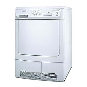 Electrolux EDC 78550 W Independiente Carga frontal 8kg B Color blanco - Secadora (Independiente, Carga frontal, B, Color blanco)