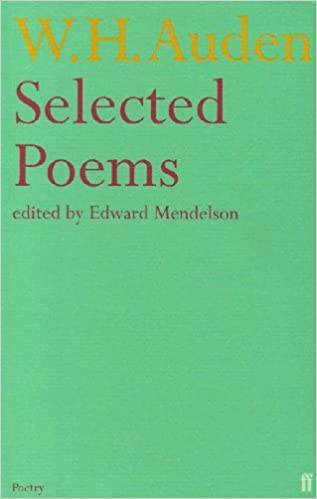 Selected Poems Amazoncouk Wh Auden 9780571113965 Books