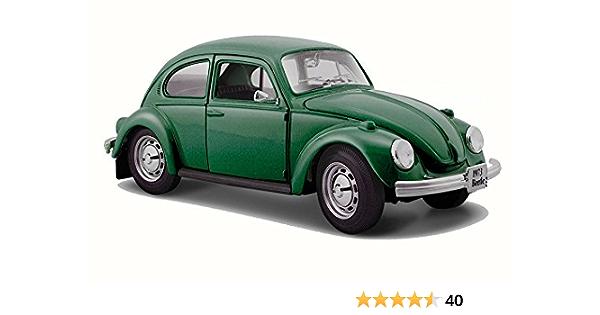 Volkswagen VW Beetle 1973 Green 1:24 Model 31926GR MAISTO