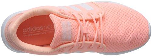 adidas Cloudfoam QT Racer W, Sneaker Basses Femme Rosa