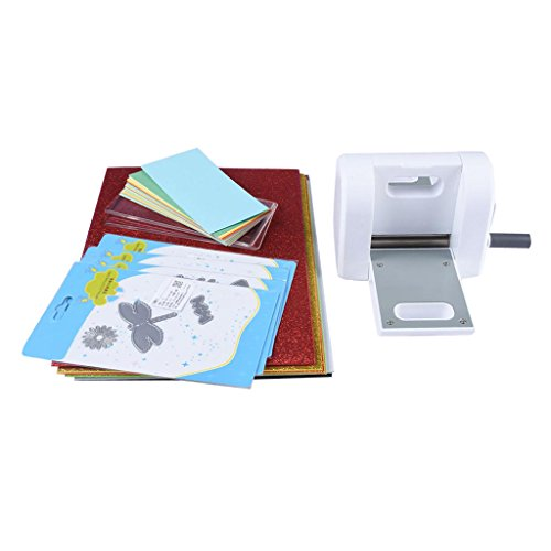 Baoblaze Die Cutting Embossing Machine Paper Cutter Die-Cut Machine Cutting Dies Cards Pads EVA for Handmade Creative Tool Party Gift Scrapbooking Card Making Supplies by Baoblaze