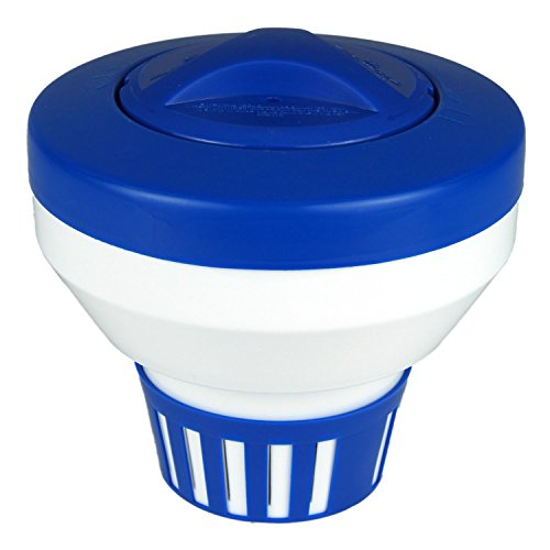 Poolmaster 32155  Floating Swimming Pool Chlorine Dispenser, Essential Collection ()