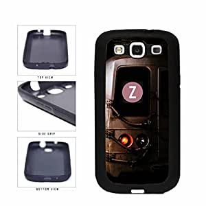 Personalized NYC Train Custom Letter Z TPU RUBBER SILICONE Phone Case Back Cover Samsung Galaxy S3 I9300