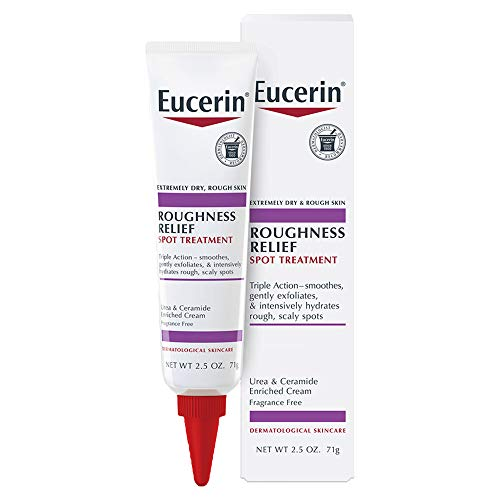Eucerin Roughness Relief Spot Treatment - Targeted Treatment for Extremely Dry, Rough Skin - 2.5 oz. Tube (Best Treatment For Extremely Dry Feet)