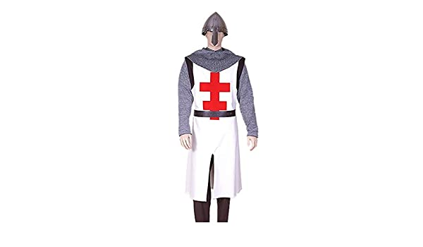Medieval Factory Traje Templario Cruz Quíntuple: Amazon.es ...