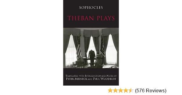 Amazon Com Theban Plays Hackett Classics Ebook Sophocles Paul