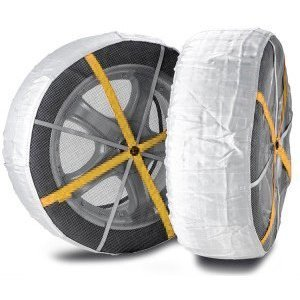 Snow Socks Fabric Snow Chains For Tyres 205 55 X 16 In Stock