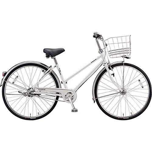 ブリヂストン シティサイクル自転車 ロングティーンDX LT7STP P.Xスノーホワイト P.Xスノーホワイト B07J2XZVT6