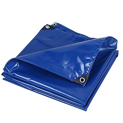 不満理容室醜いQIANGDA トラックシート荷台カバー両面防水 高密度PVC ハーディー 引裂抵抗 (厚さ0.45mm)複数サイズ (色 : 青, サイズ さいず : 1.9 x 1.9m)