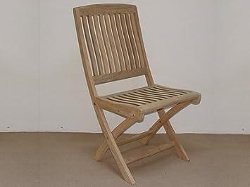 Atlanta Teak Furniture   Teak Folding Side Chair   Grade A   Armless