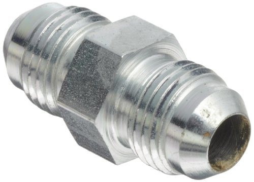 Eaton Aeroquip 2027-6-6S Small Hex Union, JIC 37° End Types, Carbon Steel, 9/16 JIC(m) End Size, 3/8 Tube OD (Pack of 5) (Sizes Steel Tubing)