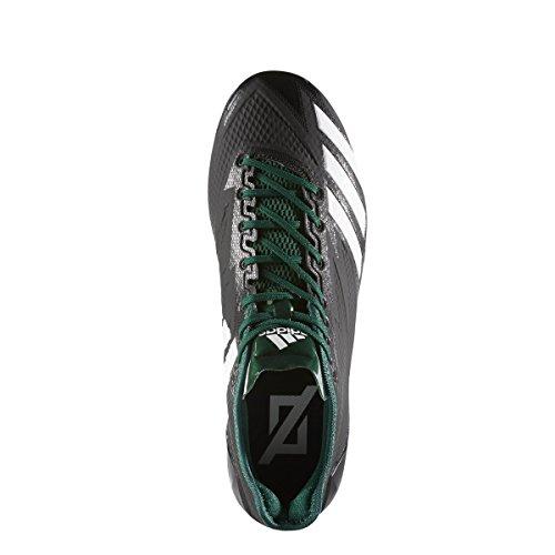 Adidas Adizero 5-sterren 6.0 Klamp Heren Voetbal Zwart-wit-donkergroen