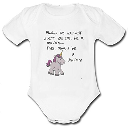 Opp-l Always Be Youself Baby Organic Short Sleeve One Piece