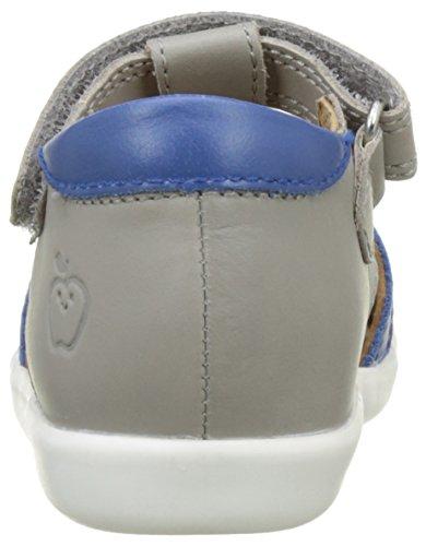 Shoopom Pika Be Boy - Primeros Pasos de Otra Piel Bebé-Niñas Gris (Grey-Azur)