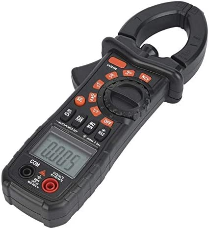 Precise Instrument Multimeter UA2018B Black Handheld Digital Clamp Meter DC/AC Voltage Measuring Digital Profesional Electrical Testing Voltage Testers