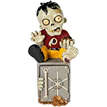 Forever Collectibles NFL Unisex Zombie Figurine Bank