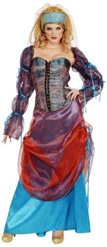 [Forum Deluxe Designer Collection Royal Courtesan Costume, Multi, X-Large] (Renaissance Courtesan Costume)