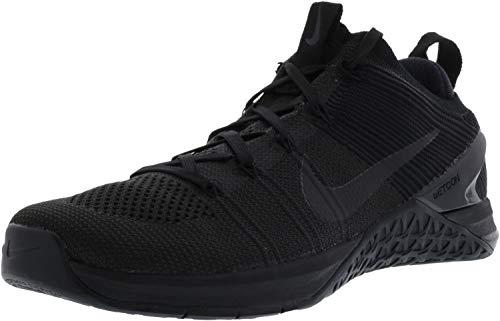 NIKE Mens Metcon DSX Flyknit 2 Training Shoe Black/Black-Bla