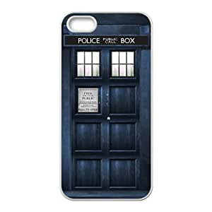 ORIGINE Doctor Who blue police box Cell Phone Case for Iphone 5s