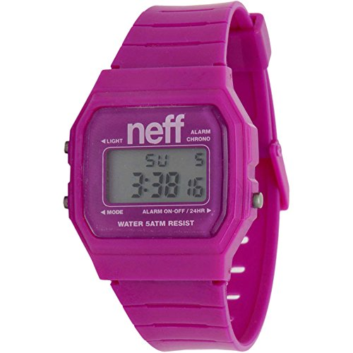 Neff Men's NF0204-Purple Old Digital Display Strap