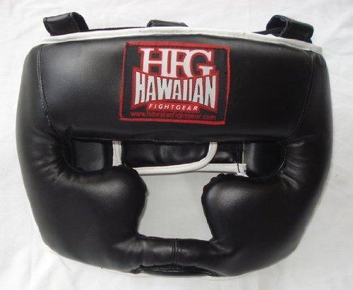 ハワイアンFight ハワイアンFight gear-hfg合成レザーFull ブラック FaceトレーニングHeadgear B00G58ZUYM Large ブラック B00G58ZUYM, ジャンプラボ:bdc5ea9b --- capela.dominiotemporario.com
