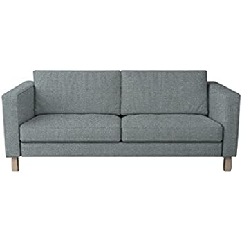 MastersofCovers 7 Colors Polyester Karlstad 3 Seat Sofa Cover For The Ikea Karlstad  3 Seater Sofa