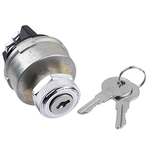 Yeefant Ignition Starter Switch Key Lock Cylinder Cover Craft Door Lock Cylinder Pair Cables Wires For Car Auto Universal KS6180 US14