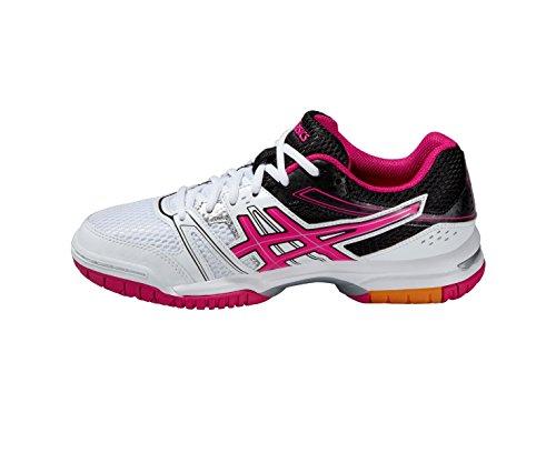 ASICS Gel-Rocket 7 - Zapatillas de Voleibol para mujer White/Magenta/Black