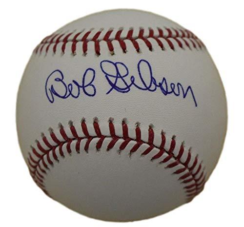 Bob Gibson Autographed/Signed St Louis Cardinals OML Baseball JSA