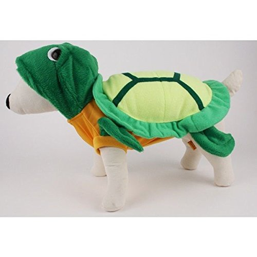 Tortoise Dog Costumes (Dog Costume TURTLE SHELL COSTUMES Dress Your Dogs Like A Tortoise(Size 0))