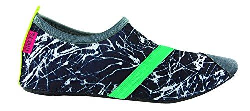 Scarpe Flessibili Da Donna Fitkicks - Calzature Lifestyle Attive - Per Comfort E Grafite Con Rilievo In Tacco Alto