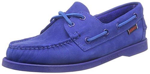 Nubuck da Blu Bright Sebago Uomo Bright Blue Scarpe Docksides Barca pTgEEIxq