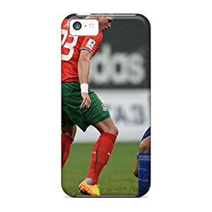 High-quality Durability Case For Iphone 5c(the Halfback Of Moscow Lokomotiv Vitaliy Denisov)