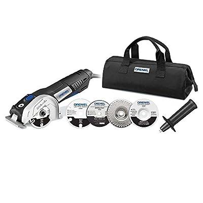 "Dremel US40-DR 7.5 Amp 4"" Ultra-Saw 120-V Corded Compact Circular Saw Tool Kit from Dremel"