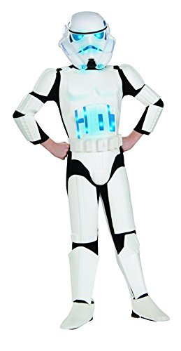 Star Wars Deluxe Light-Up Stormtrooper Costume, Small