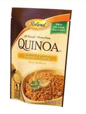Roland Lemon Flavor Curry Quinoa, 5.46 Ounce -- 12 per case. by Roland