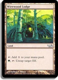 Magic: the Gathering - Wirewood Lodge - Duel Decks: Elves vs Goblins